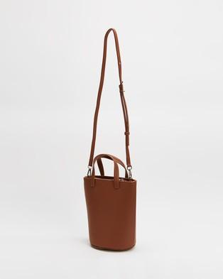 MATT & NAT Casa Tote Handbags Purity Carotene
