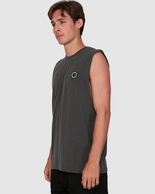 Element Dream On Muscle Top - Muscle Tops (BLACK RINSE)