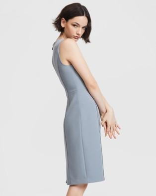 ARIS Curved Seam Dress - Dresses (Blue)