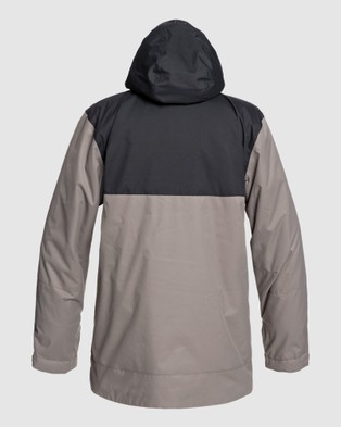 DC Shoes Mens Defy Snow Jacket - Coats & Jackets (Black)