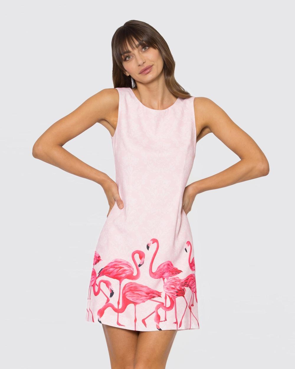 Alannah Hill Pink Stand Tall Dress
