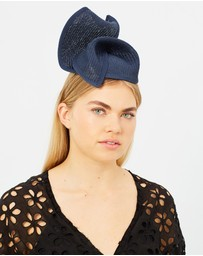 Max Alexander - Navy Spring Racing Fascinator