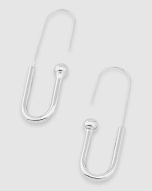 Peter Lang Nova Earrings - Jewellery (Silver)