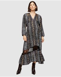 TOPSHOP Maternity - Lace Trim Smock Dress