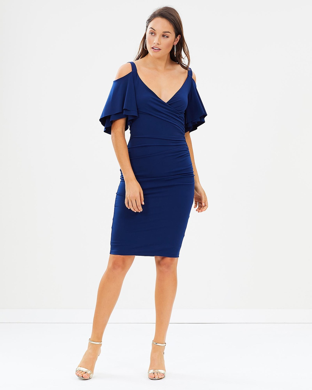 Montique Alexis Dress Bodycon Dresses Sapphire Alexis Dress