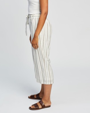 KAJA Clothing Fallon Culottes - Pants (Gold Stripe)