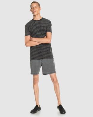 Quiksilver Mens Blora T Shirt  - T-Shirts & Singlets (BLORA BLACK)