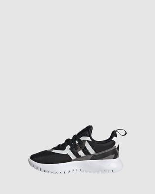 adidas Originals Originals Flex Run Pre School - Sneakers (Black/White/Grey)