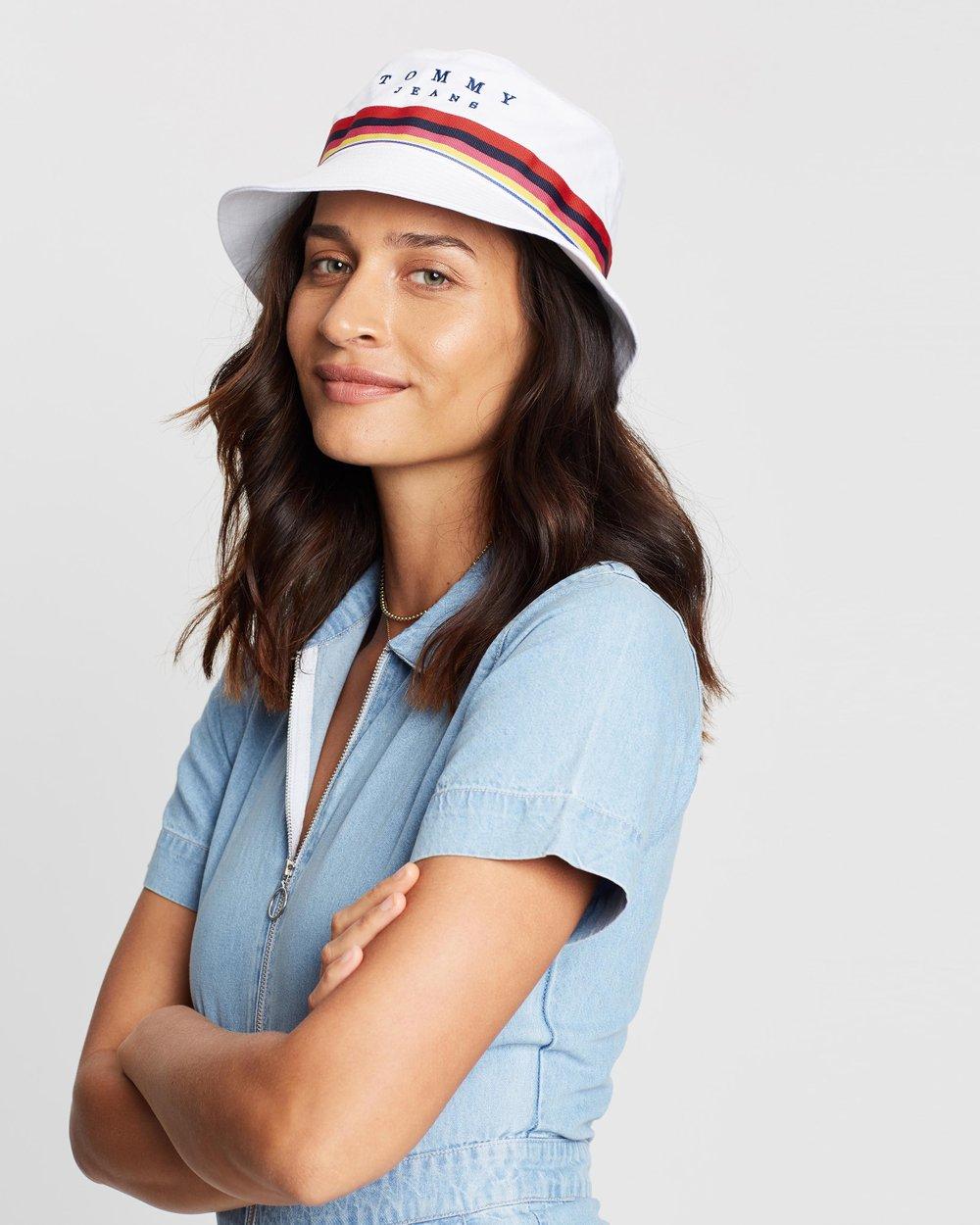 e3ea0ec65295c TJU Rainbow Bucket Hat by Tommy Jeans Online