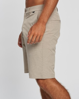 TravisMathew Beck Golf Shorts Chino Khaki