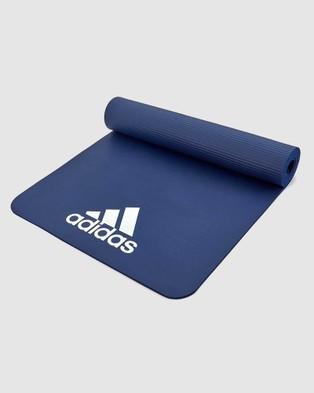 Adidas - 7mm Fitness Mat Training Equipment (Blue)