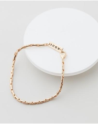 Icon Brand Entity Chain Bracelet Gold