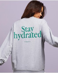 Dazie - Stay Hydrated Sweat Shirt