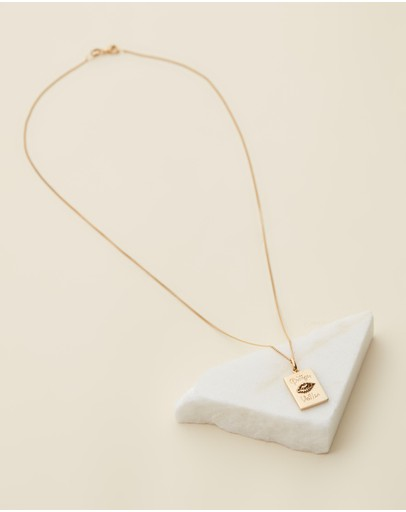 Meadowlark Protéger Necklace Gold Plated