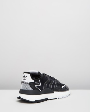 adidas Originals Nite Jogger Unisex Performance Shoes Core Black & Footwear White