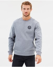 Armani Exchange - Circle Logo Crew