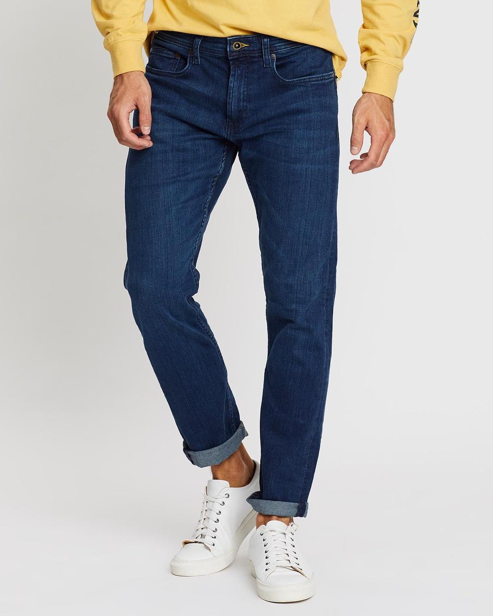 Rodd & Gunn Briggs Straight Short Leg Jeans Denim