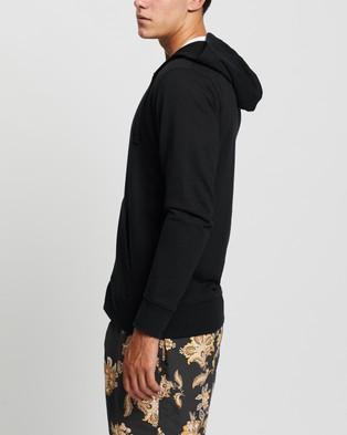 Bonds - Essential Zip Hoodie Hoodies (Black)