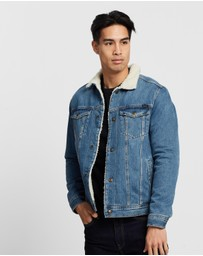 Jack & Jones - Sherpa Denim Jacket