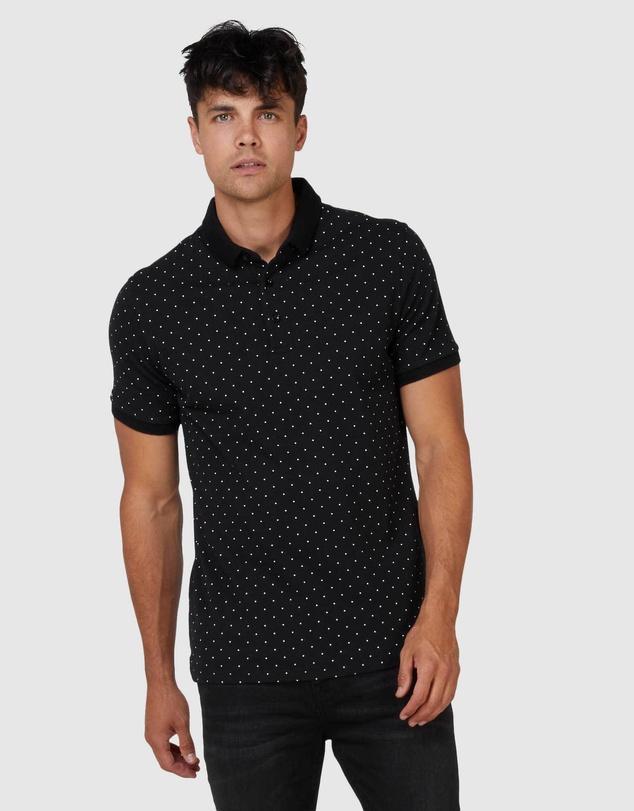 Men NYC City AOP Polo Shirt