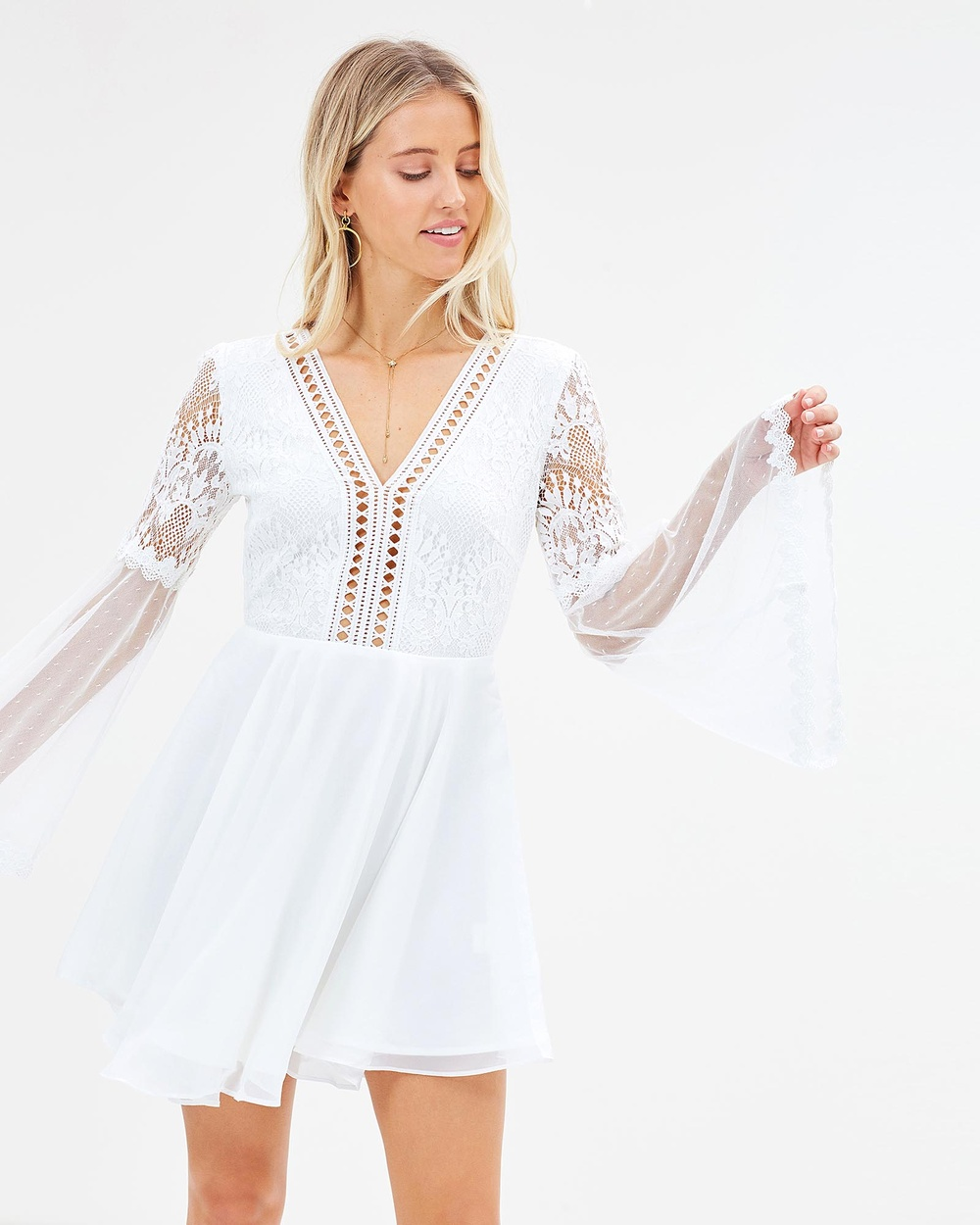 Twosister's The Label Bethany Dress Dresses White Bethany Dress