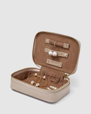 Kinnon Blixen Jewellery Case - Jewellery (Nude)