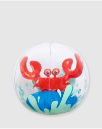 Sunnylife Kids - 3D Inflatable Beach Ball Crabby