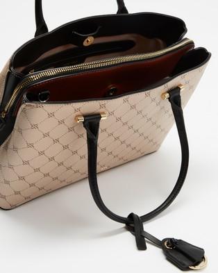 Nine West Eloise Jet Set Satchel - Handbags (Khaki)