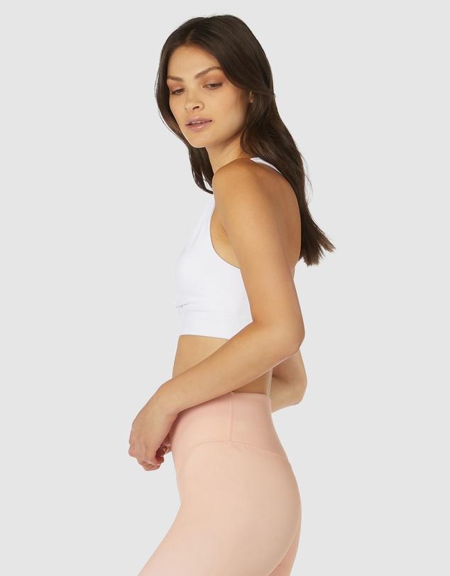 Women Pink Rock Twist Crop