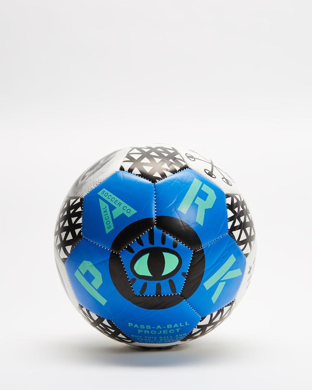 PARK Soccer Ball Boxing Ultra Blue