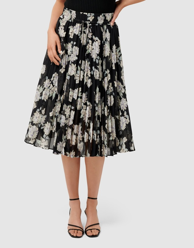 Forever New - Alexis Pleated Georgette Skirt