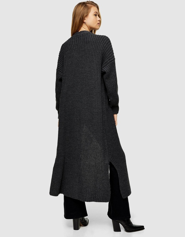 Women Maxi Knitted Cardigan