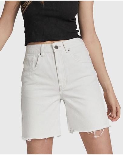 Cotton On Straight Denim Bermuda Shorts Whitehaven