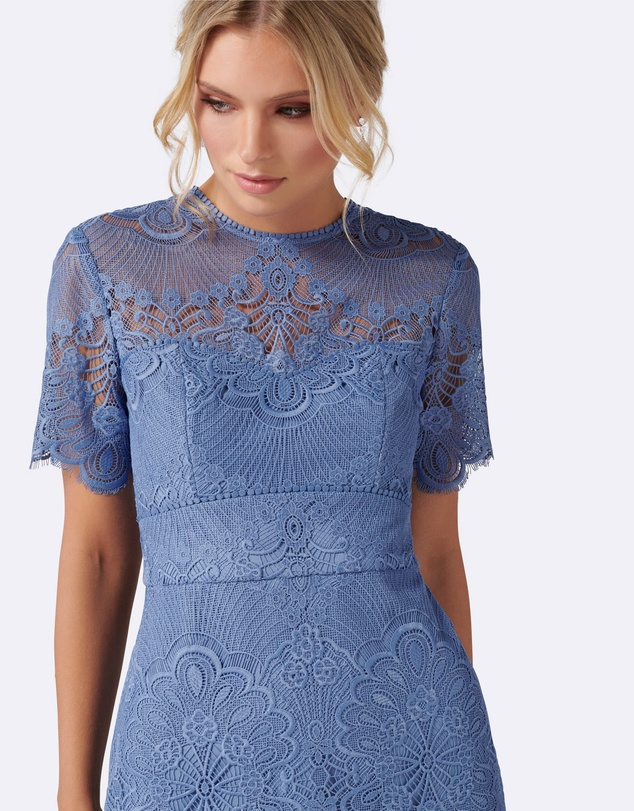 Forever New - Raelyn Short Sleeve Lace Dress.