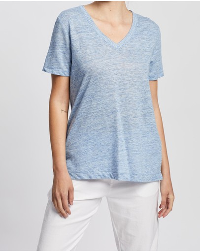 David Lawrence - Linen Melange Tee