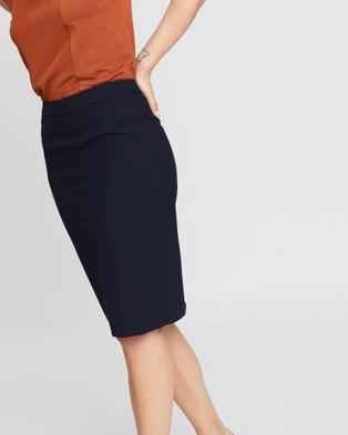 David Lawrence Stevie Pencil Skirt - Pencil skirts (INK)