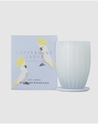 Peppermint Grove - Blooming Botanicals Large Candle - 350g