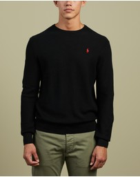 Polo Ralph Lauren - ICONIC EXCLUSIVES - Pima Cotton Long Sleeve Sweater