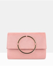 Iyla Structured Clutch Bag