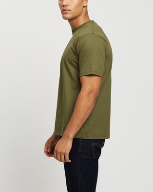 Mr Simple - Heavy Weight Tee - T-Shirts & Singlets (Army) Heavy Weight Tee