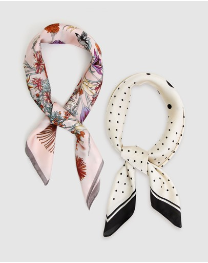 Belle & Bloom - Fashion Scarf 2 Pack