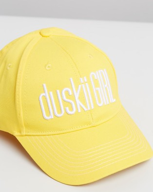 Duskii Amelie Cap   Teens - Hats (Canary Yellow)