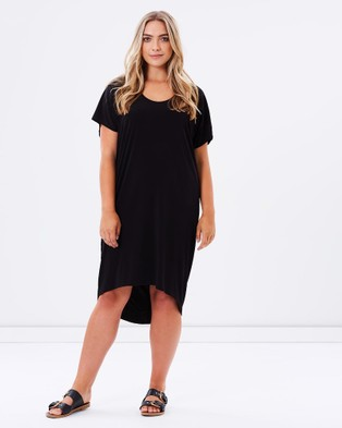 Harlow – Diva Slouch Dress Black