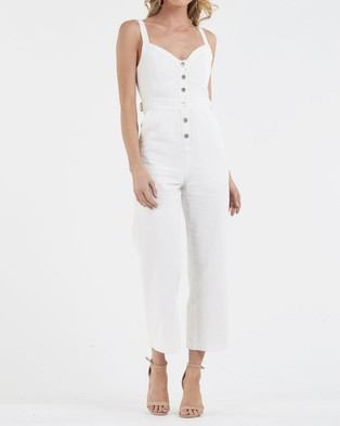 Amelius Nova Jumpsuit - Jumpsuits & Playsuits (White)