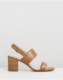 Atmos&Here - Elle Leather Heels