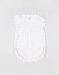 Polo Ralph Lauren - Toile Print One-Piece Shortalls - Babies