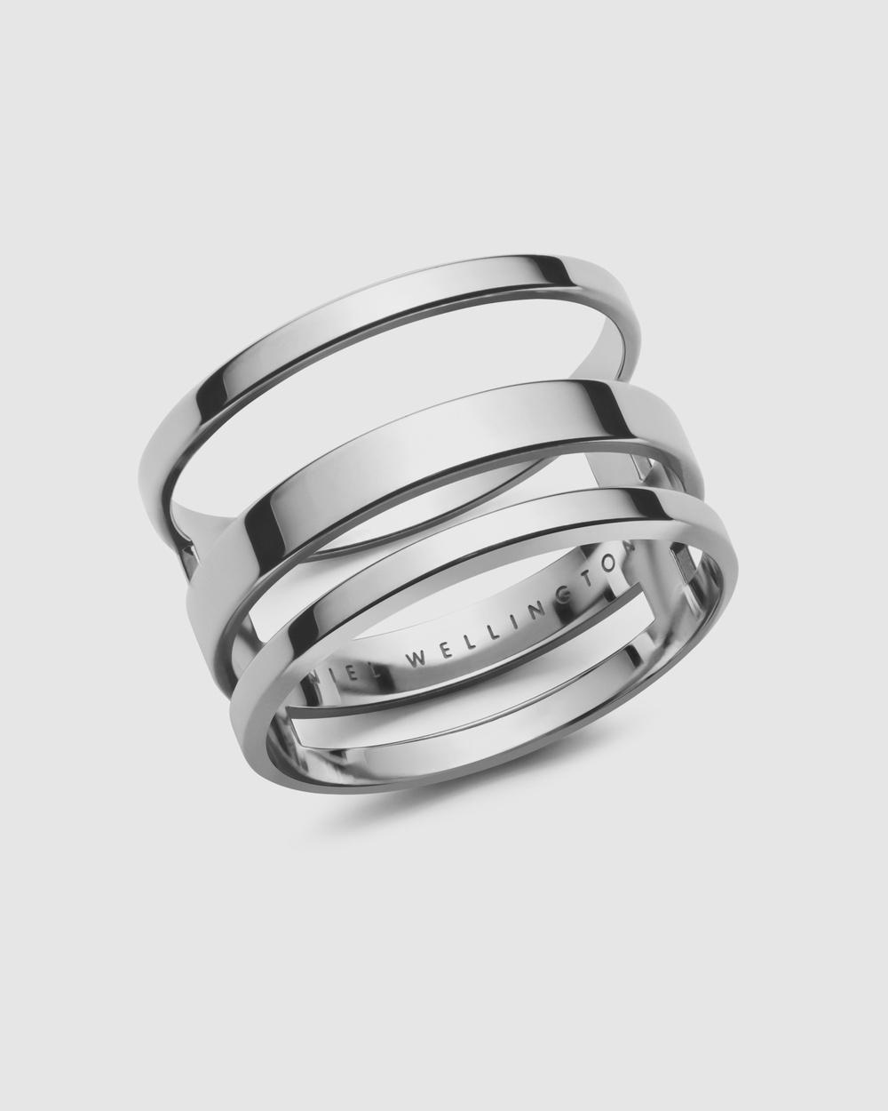 Daniel Wellington Elan Triad Ring Jewellery Silver