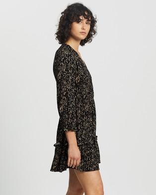 M.N.G Moss Dress - Printed Dresses (Medium Brown)