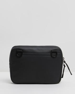 HUGO Logo Print Envelope Bag - Bags (Black)