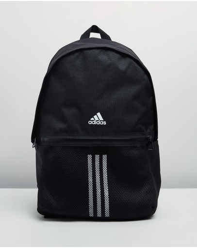 Adidas Performance Classic 3-stripes Backpack Black & White